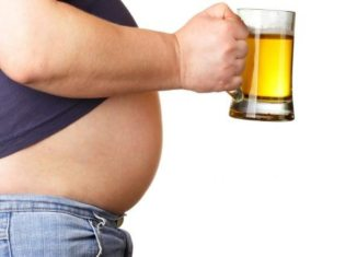 cerveza aumento de peso