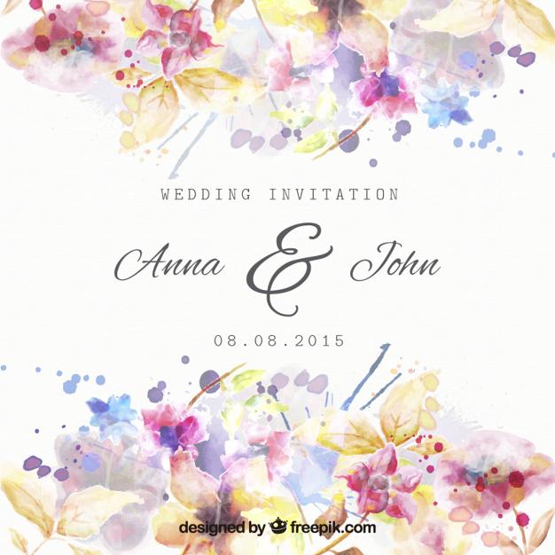 invitaciones de boda elegantes para imprimir gratis (17) My CMS - plantillas para invitaciones gratis
