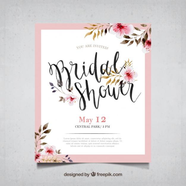 invitaciones de boda elegantes para imprimir gratis (4) Te decimos