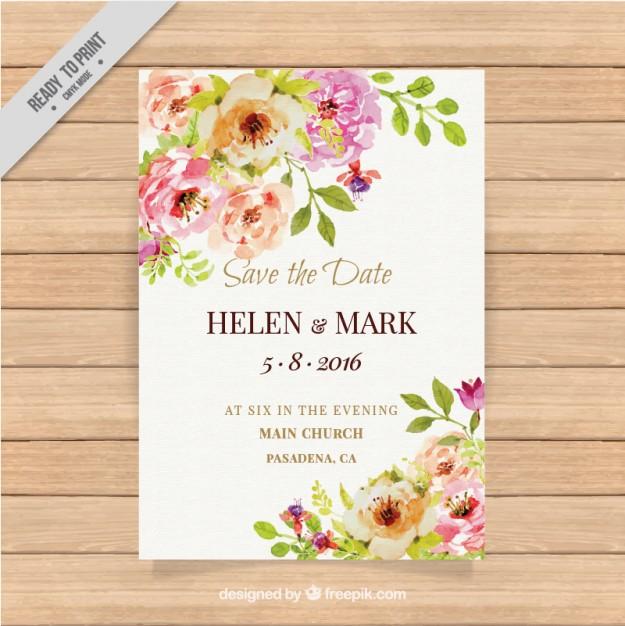 invitaciones de boda elegantes para imprimir gratis (7) My CMS - plantillas para invitaciones gratis