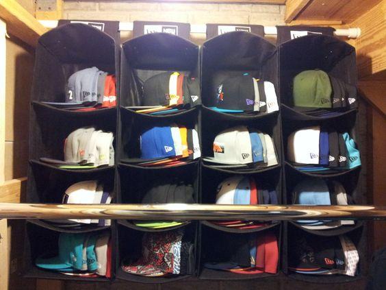 Como Organizar Gorras 4
