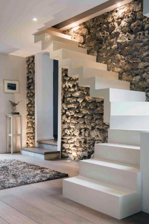 Decoration Escalier Beton Interieur Ideas De Decoracion Rustica - Moderna Para Tu Hogar (38