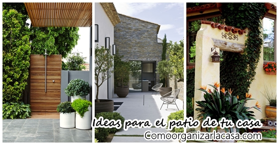 Ideas Para Decorar Patios De Casas Ideas Para Decorar El Patio De Tu Casa | Decoracion De