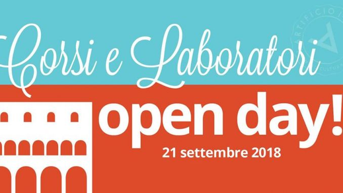 Open Day al Chiostrino Artificio