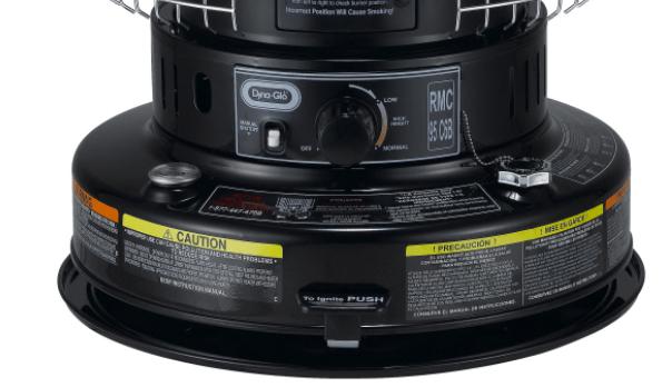 Dyna Glo Kerosene Heater Convection Electric 23000 Btu