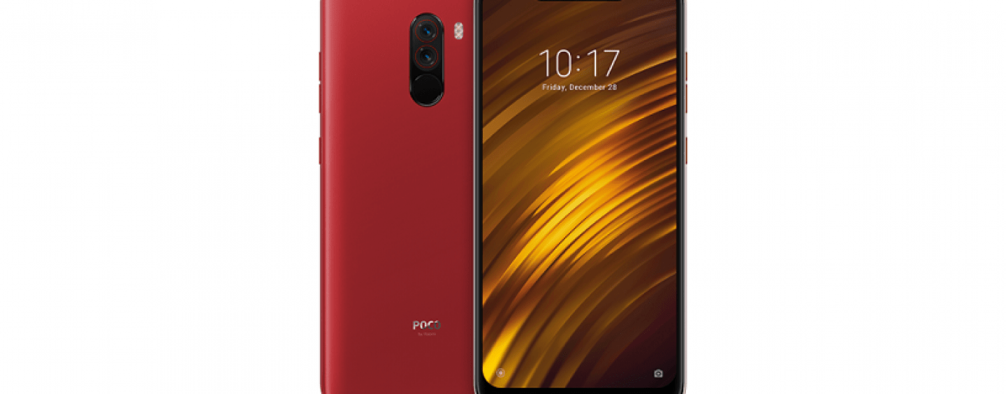 Poco Sale Poco F1 Gets New Rosso Red Colour Variant In India To Go On Sale