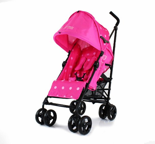 Chicco Double Pram Stroller Pink