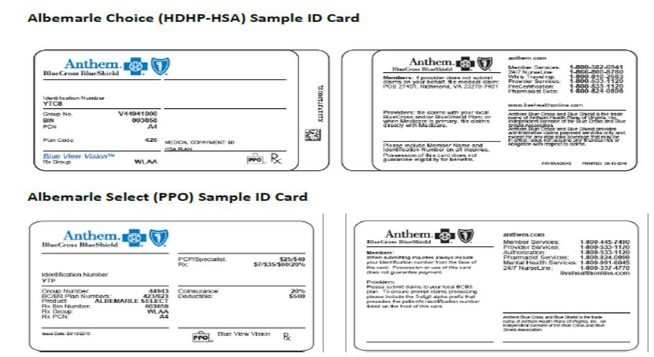 benefitsFOCUS Anthem card reminder, what to do if you don\u0027t have