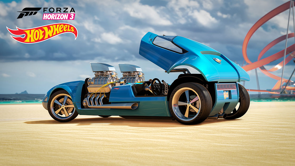 Ferrari Blue Car Hd Wallpaper Forza Motorsport Forza Horizon 3 Hot Wheels