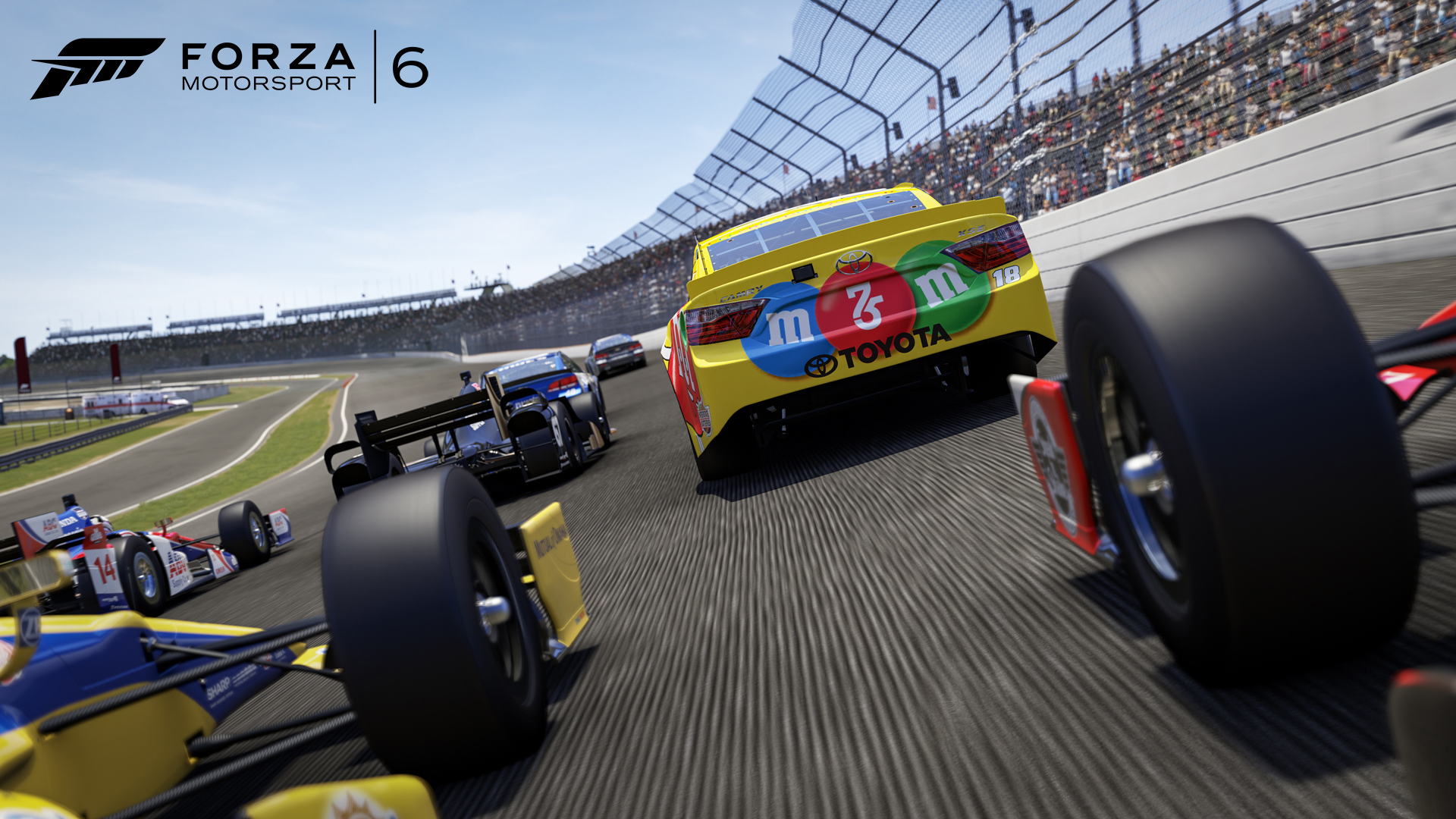 Chip And Dale Wallpaper Hd Forza Motorsport Forza Motorsport 6 Nascar Expansion