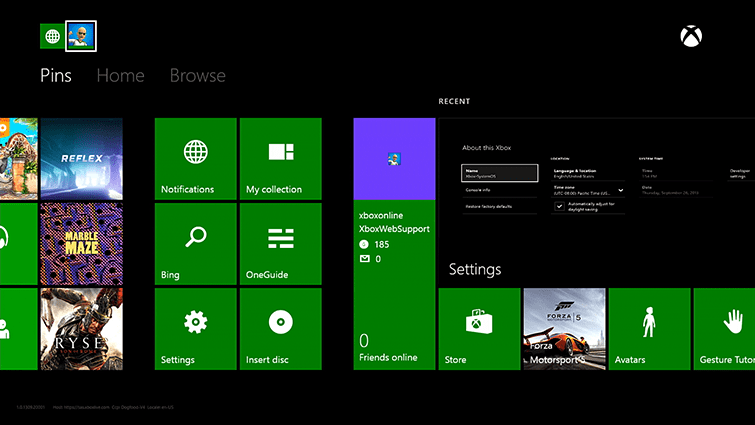 picture Setting up your new Xbox One |