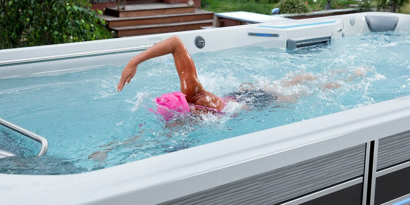 Jacuzzi Pool Installation Looking For A Swim Spa Check Out This Alternative Before You Buy