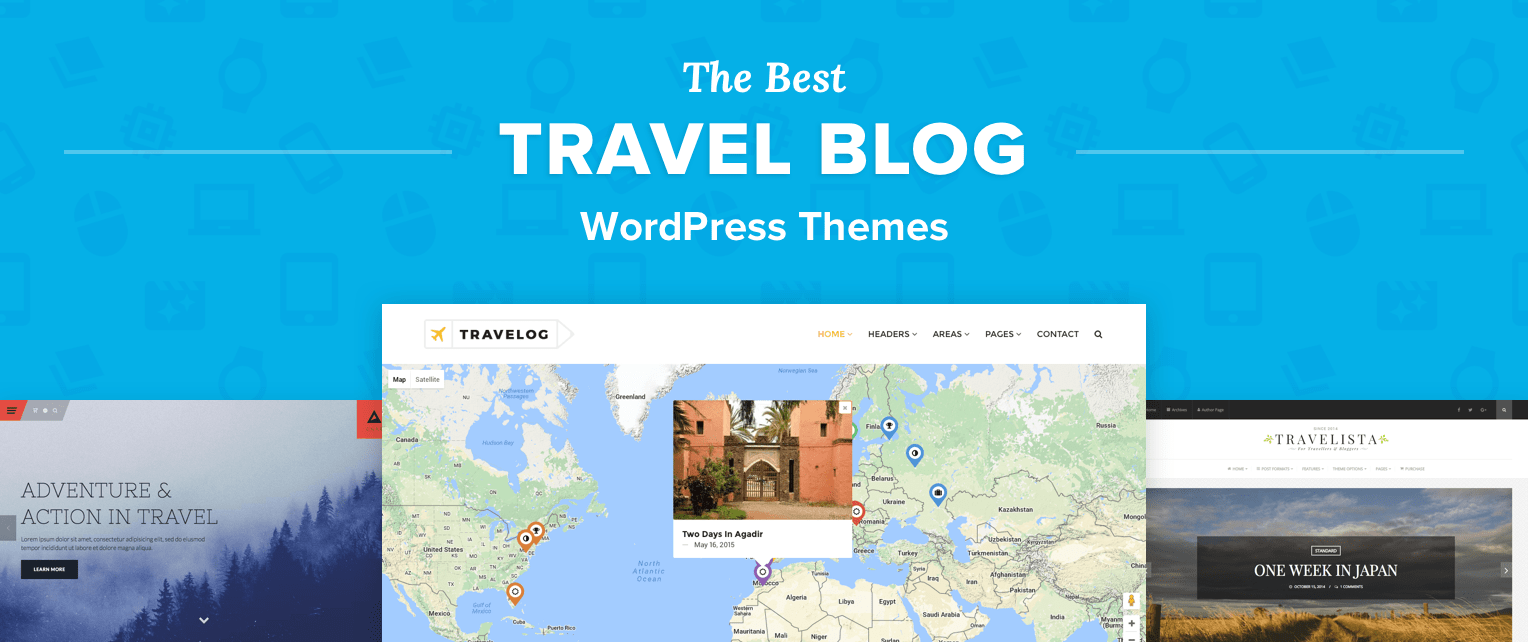 Travel Blog With Map Top 12 Best Wordpress Travel Blog Themes For Journals Photos
