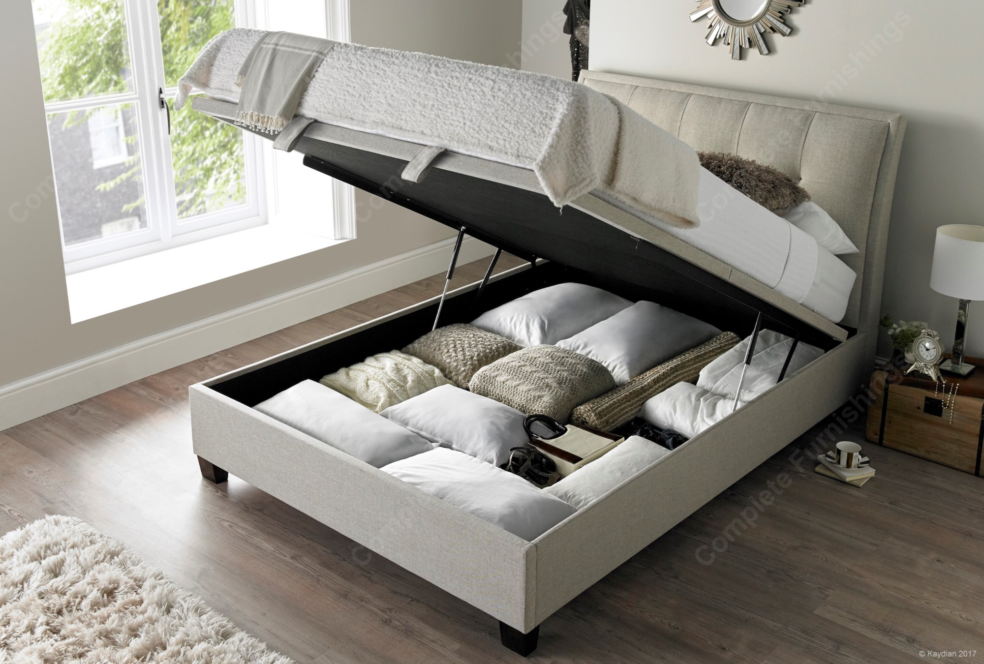 Accent Bed Kaydian Accent Ottoman Bed Free Delivery Best Price
