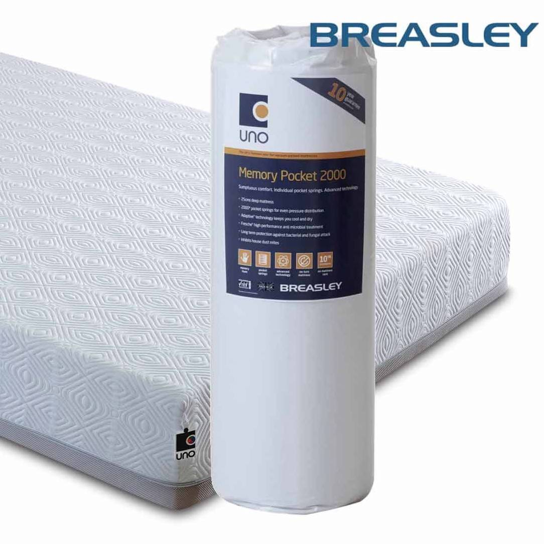 Breasley Mattress Review Breasley Uno Pocket 2000 Mattress Best Price Promise