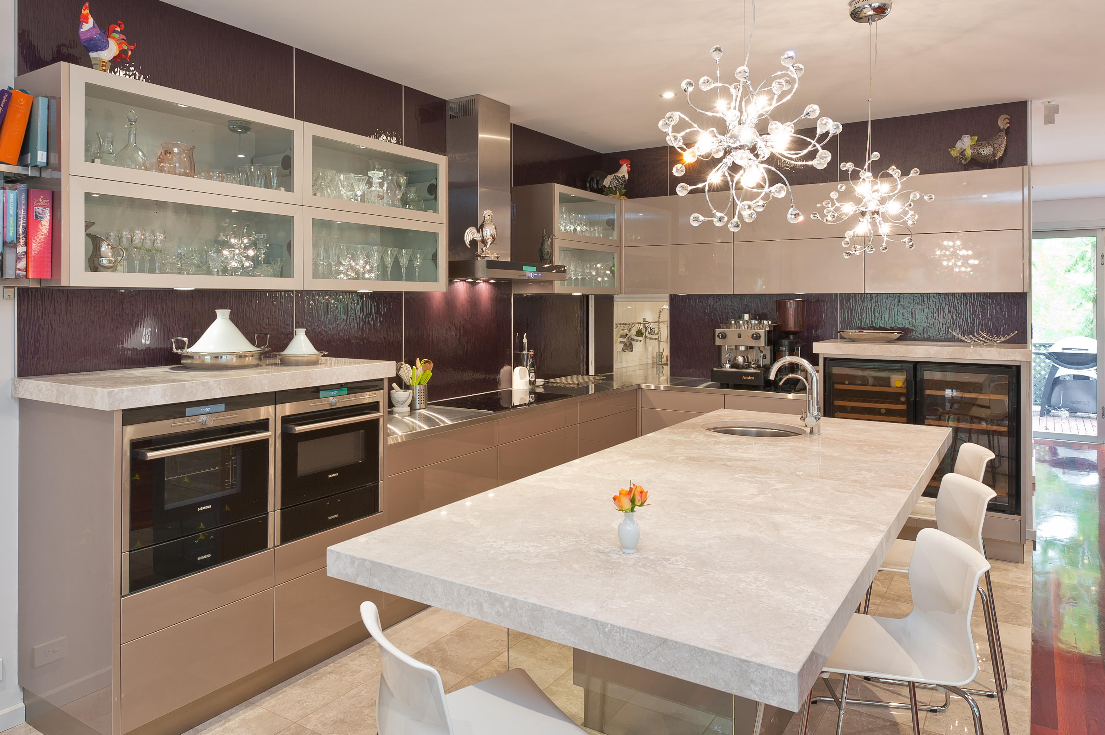 Kitchen Designs Australia Innovative Kitchen Perfect For Entertaining Completehome