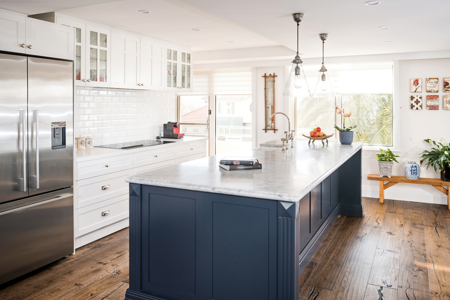 Hamptons Kitchens Coastal Calm Hamptons Kitchen Completehome