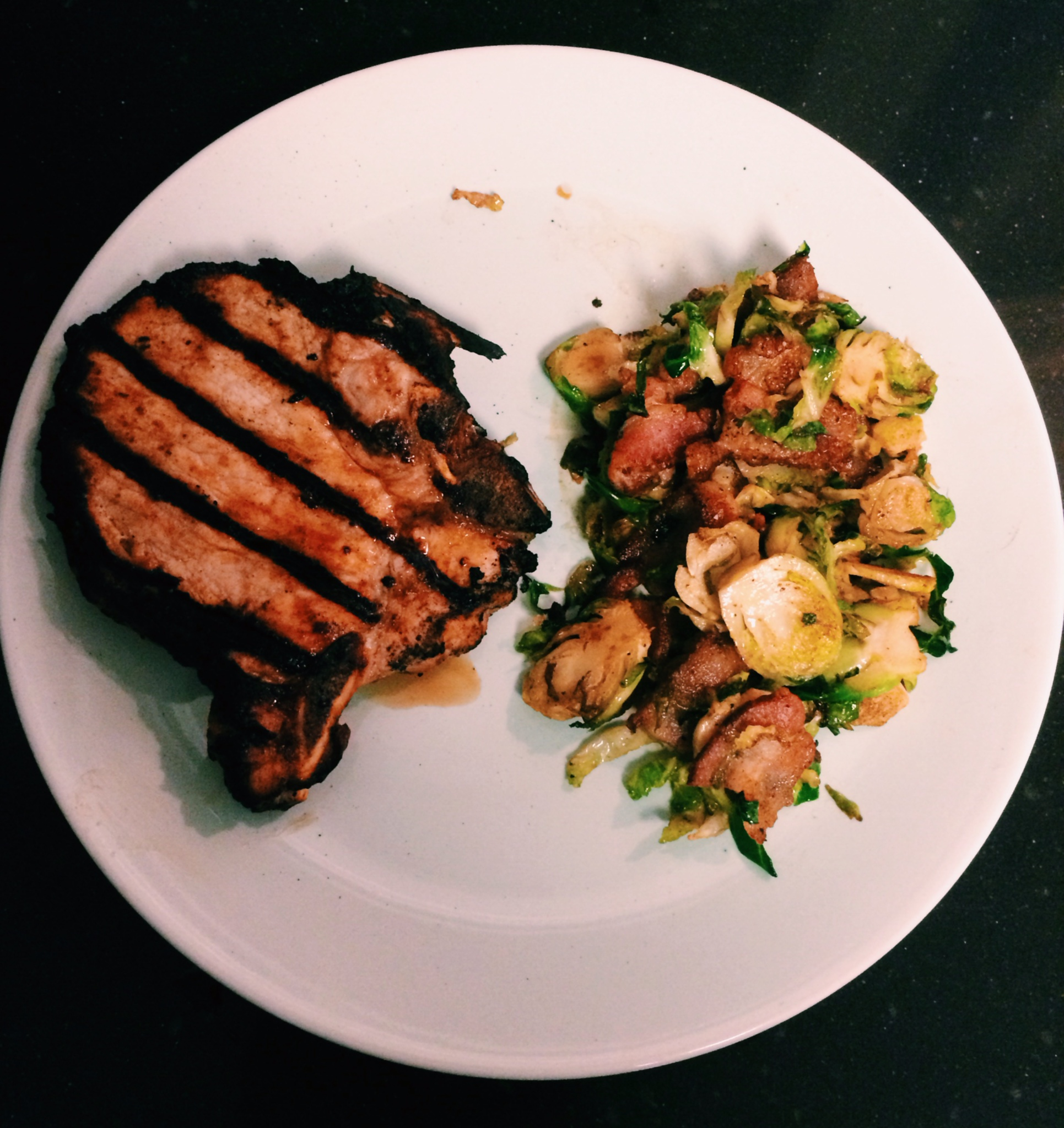 Fullsize Of What Goes With Pork Chops