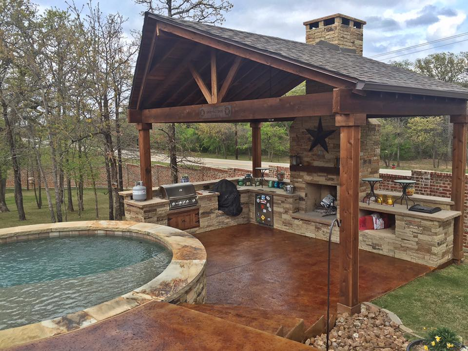 Patio And Deck Acid Staining Remodeling Contractor