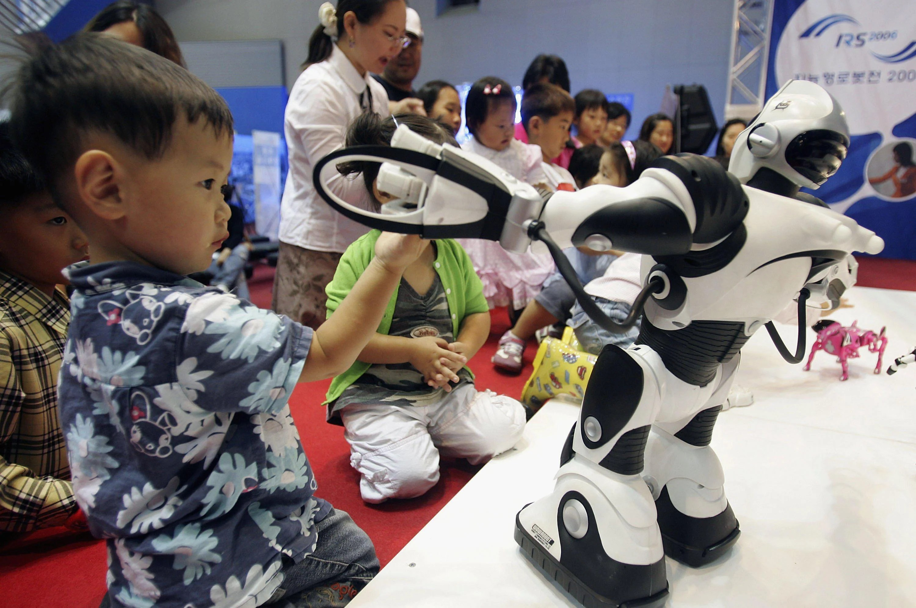 Children Robot Ai Robots Could Babysit Children If Liability Can Be Settled