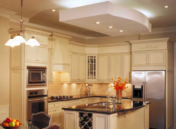 How Do You Attach Crown Molding To Kitchen Cabinets Installing Crown Molding On Kitchen Cabinets
