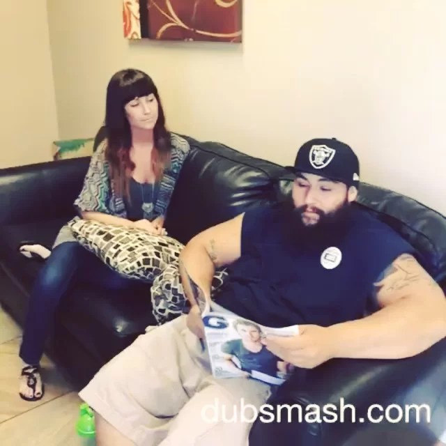 iShieldz couch confessions//Don't forget to clean up after your beard hair