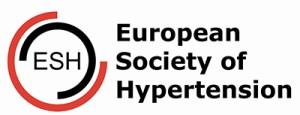 Logotipo de la sociedad europea de la hipertension, organismo que trabaja para la validación del tensiómetro