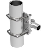 Comprod Inc. | 127-85 90 Pipe-to-Pipe Clamp