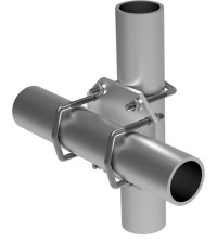 Comprod Inc. | 124-85 90 Pipe-to-Pipe Clamp