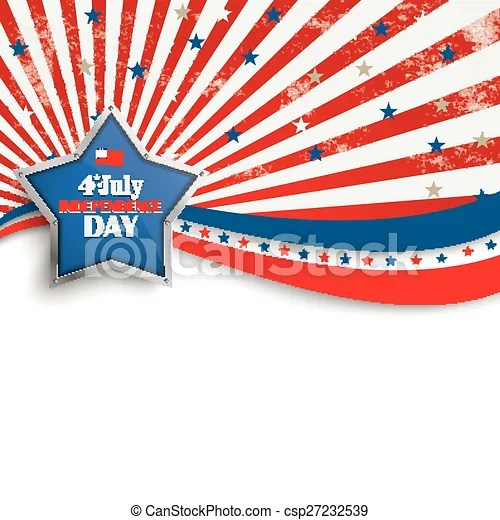 4th july stars stripes flyer silver star Independence day - independence day flyer