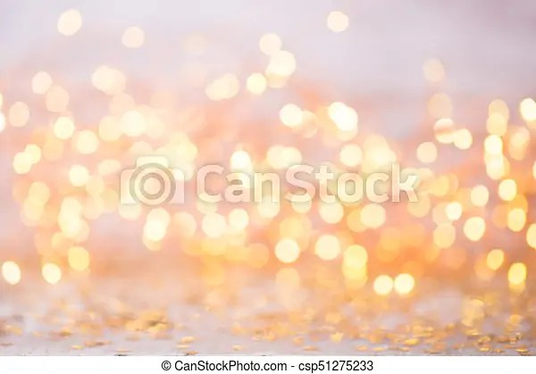 Abstract gold bokeh christmas and new year theme background - christmas theme background