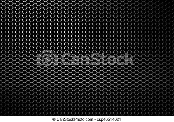 Black metal speaker mesh background metallic texture or pattern