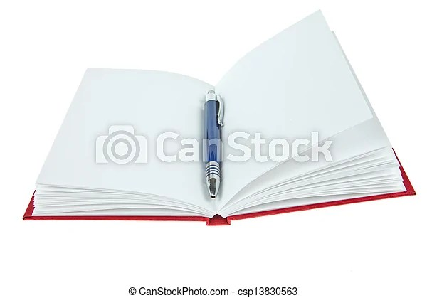 Blank opened book with pen stock image - Search Photos and Photo - opened book