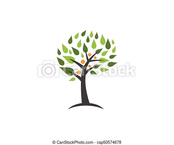 Family tree logo design template Family tree symbol icon vectors