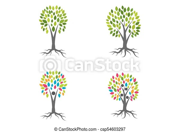 Family tree logo vector template eps vectors - Search Clip Art