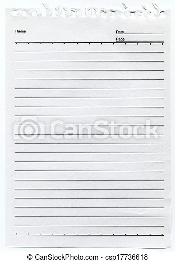 lined paper background clipart - Search Illustration, Drawings and - line paper background