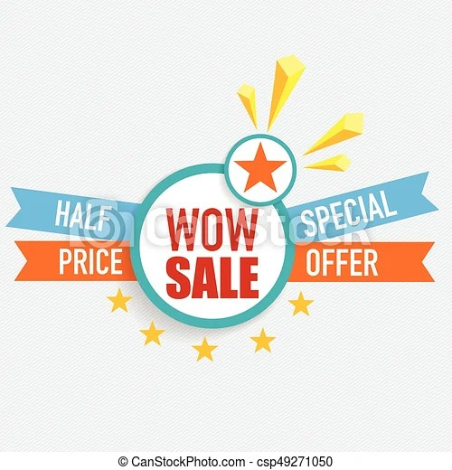Sale label price tag template design vector illustration clipart - sale tag template