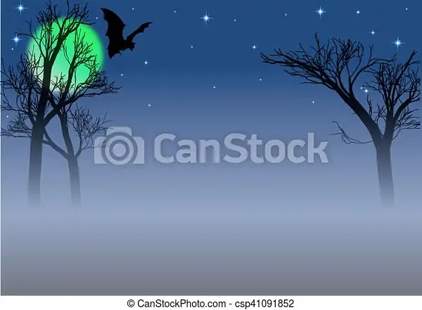 Spooky background clipart vector - Search Illustration, Drawings and