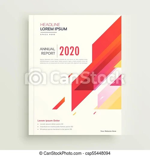 Trendy red geometric brochure design template eps vectors - Search