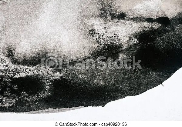 Abstract black watercolor background Abstract black hand