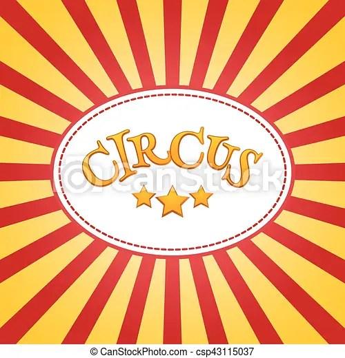 Classic circus poster design template circus background vectors