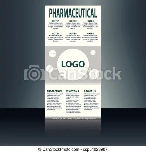 Medical brochure flyer design template a4 size - medical vector - Medical Brochure Template