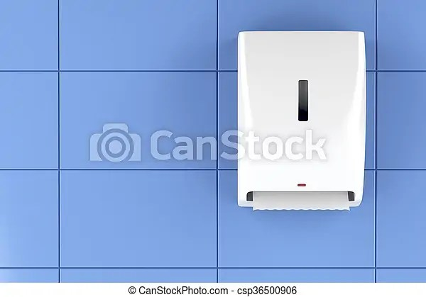 Paper Towel Dispenser Automatic Paper Towel Dispenser On The Wall