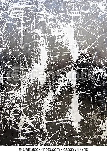 Scratched black silver background texture Scratched grungy stock