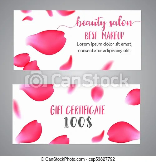 Beauty Gift Voucher Template Uk - BestChristmasGiftsCO