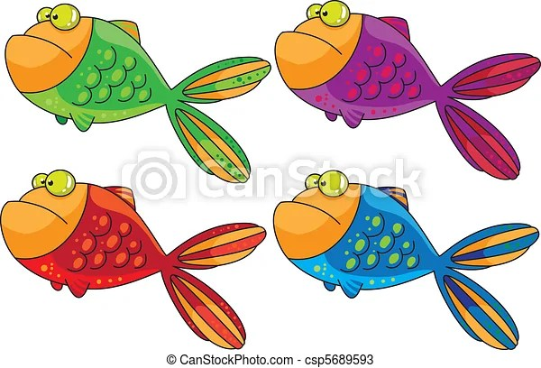 Color fish Illustrations and Clipart 30,041 Color fish royalty free