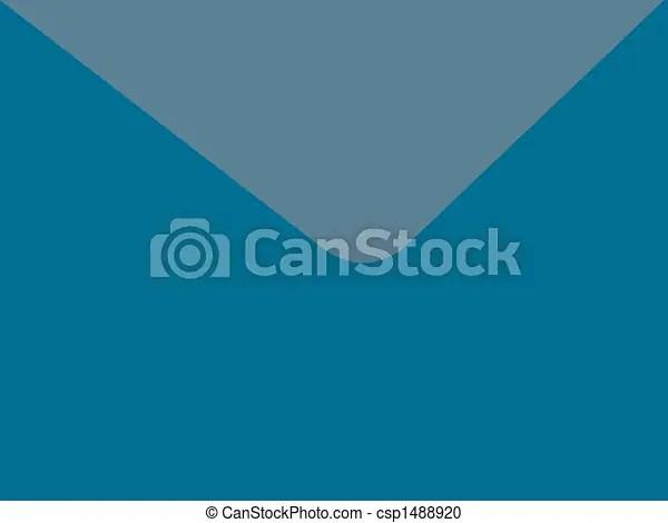 Envelope background Basic two toned blue envelope background i made