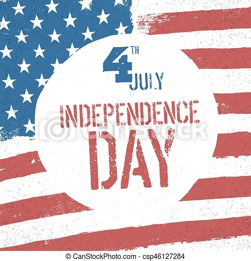 4th july independence day american flag patriotic background us