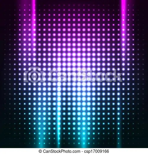 Abstract colorful disco club background vector illustration for you - club flyer background