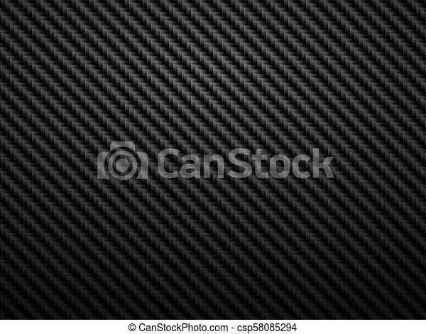 Abstract dark background carbon fiber pattern